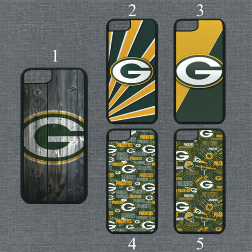 Green Bay Packers Phone Case For iPhone 12 11 Pro X XS Max 8+ 7 6 Black Cover