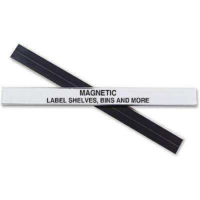 C-line Label Holder Magnetic F Shelfbin 12x6 10bx Clear 87207