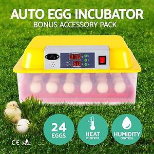 24 Egg Incubator Fully Automatic Digital LED Turning Chicken Duck Perth Perth City Area Preview