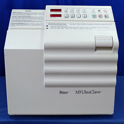 Midmark Ritter M9 Ultraclave Sterilizer Dental Medical Tattoo Autoclave