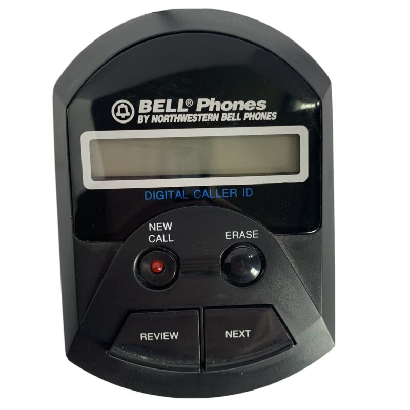 bell Phones by northwestern digital caller id Model 77111 Used