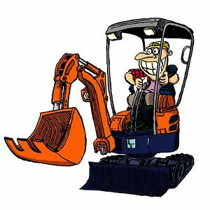 Mini Excavator Hire $175 per day Wurtulla Maroochydore Area Preview