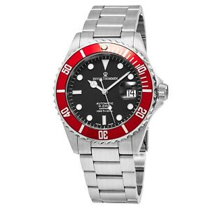 Revue Thommen Men's Diver Black Dial Stainless Steel Automatic Watch 17571.2136