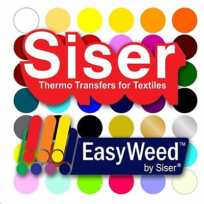 "SISER EasyWeed Heat Transfer Vinyl Tshirt /Textile HTV 12""x 60"" by precision62"