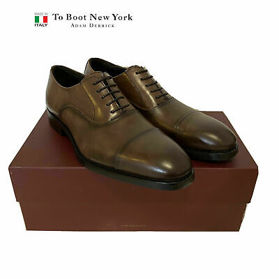 $495 To Boot New York Leather Men's Oxford Size 9.5