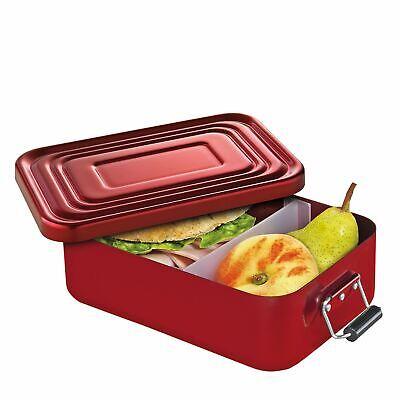 KÜCHENPROFI Lunchbox Lunch-Box klein 18x12x5 cm rot Brotdose