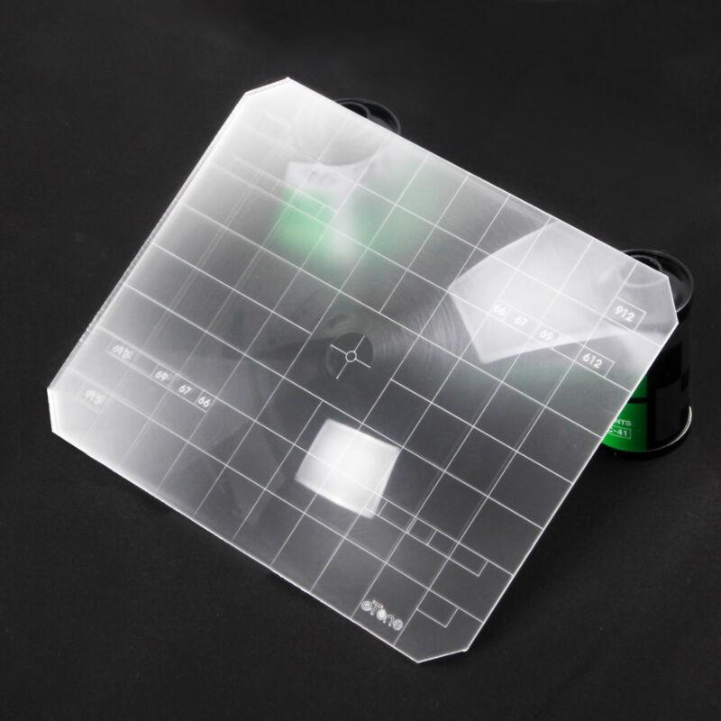 Super Bright 2 in 1 4x5 Ground Glass Fresnel Focusing Screen Linhof Sinar Wista