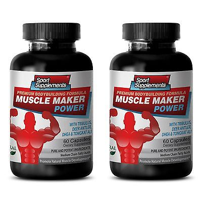 Tribulus Muscle Maker Power Boost Testosterone Muscle Sexual Male Female 2B