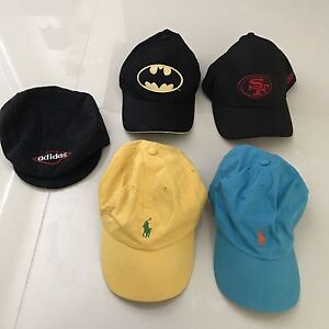Various preowned hats in very good condition - Ralph Lauren, Adidas Glendenning Blacktown Area Preview