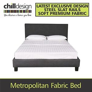 FACTORY DIRECT DOUBLE, QUEEN FABRIC BED FRAME UPHOLSTERED BEDHEAD Brisbane City Brisbane North West Preview