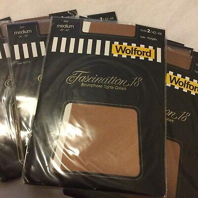 Wolford Luxury imported pantyhose medium-large size 16 - 16 Pantyhose
