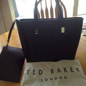 Ted Baker purple leather bag
