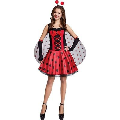 Bug Halloween Costumes Adults (Lady Bug Adult Halloween Costume Dress Up  Large)