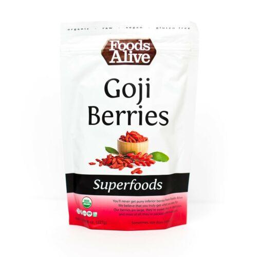 2 PACKS of Super Goji berries grown organically 2 PACK  FREE SHIPPING