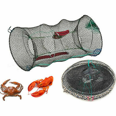 LOBSTER SHRIMP CRAB CRAY FISH BAIT FISH LIVE TRAP CAGE POT BOAT SEA FISHING