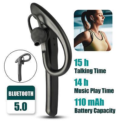 Bluetooth 5.0 Earpiece Trucker Wireless Noise Cancelling Hea