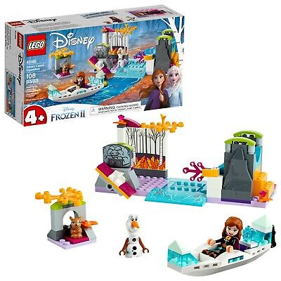 GENUINE LEGO Disney Frozen 2 Anna's Canoe Expedition Building Kit, 41165, NEW