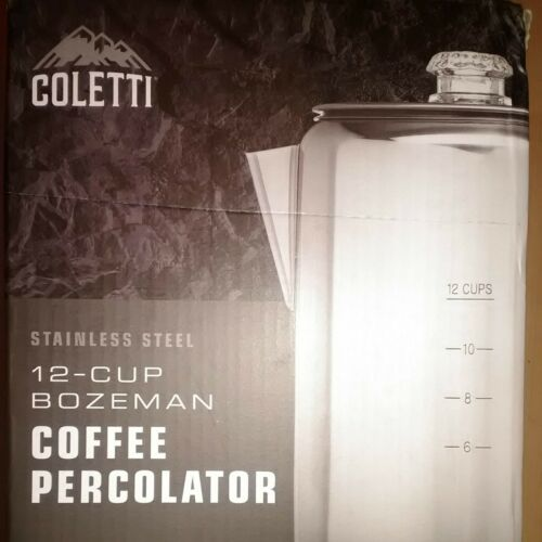 Colette Bozeman 12-Cup Coffee Percolator