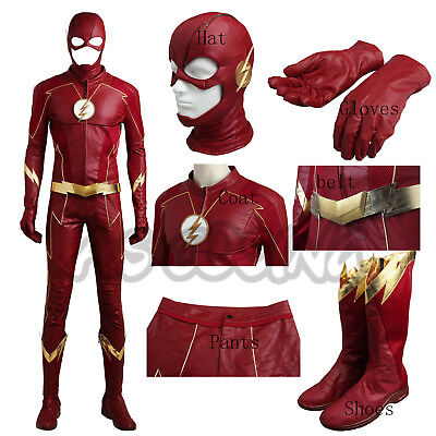 The Flash 4 Barry Allen Costume Cosplay Costume Accessories Halloween Costume - Halloween Costumes Accessories Cheap