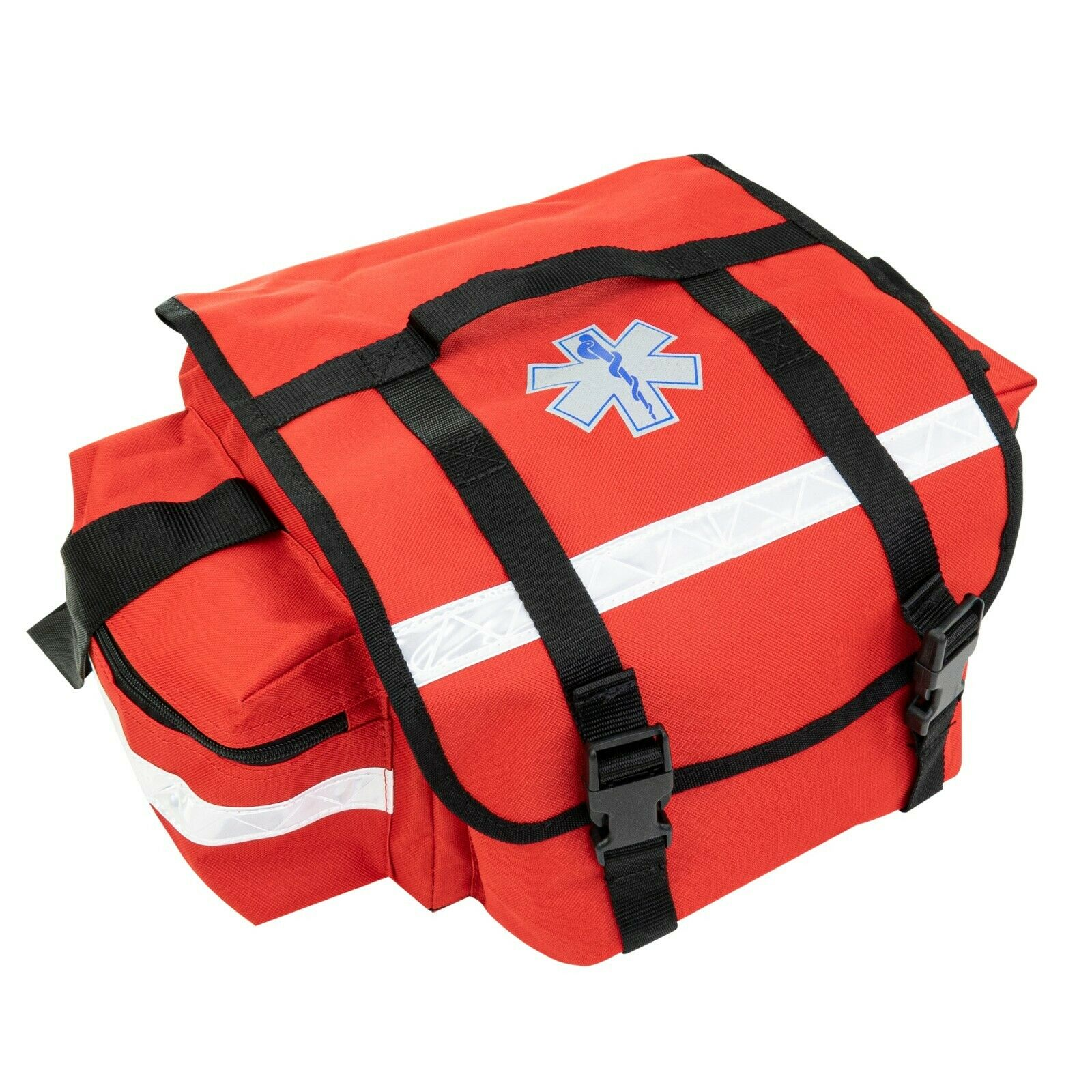 Best USED LINE2DESIGN FIRST AID BAG - MEDICAL SUPPLIES TRAUMA BAG WITH SHOULDER STRAP RED