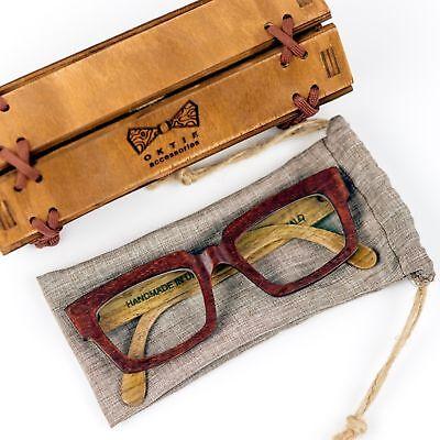 Wooden Glasses Frame Prescription Wood Eye Wear Sunglasses Unisex New (Wooden Prescription Sunglasses)