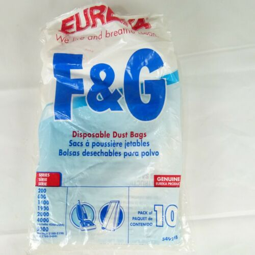 Eureka 54924B F&G Style Pack of 9 Disposable Dust Bags