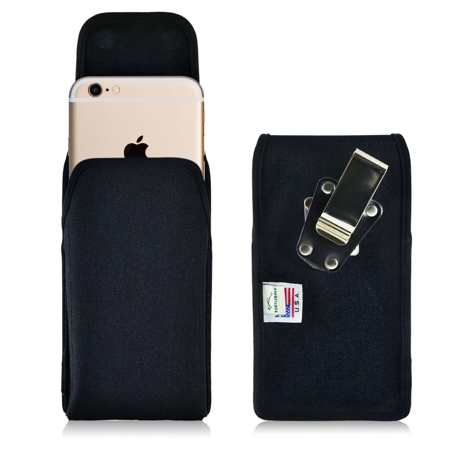 turtleback-apple-iphone-6s-nylon-vertical-black-holster-phone-case-metal-clip