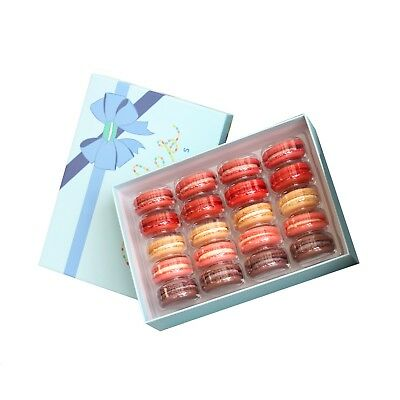 Sweet Love Giftbox (20 French Macarons) Baked Fresh, Free 2day Shipping!
