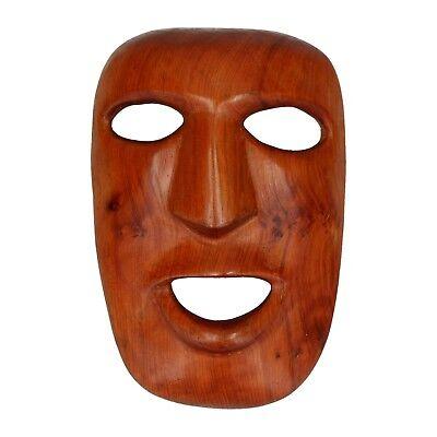 A hand carved mask Wooden Tribal Vintage / old