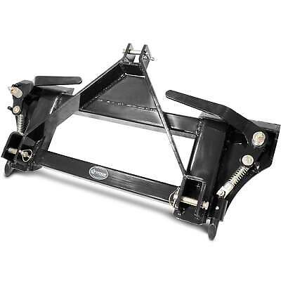 Titan Attachments 3 Point To Universal Quick Tach Adapter Skid Steer Tractor