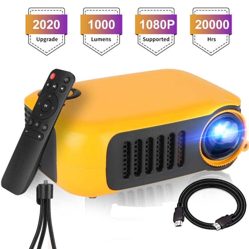 lot Portable LED Full HD 1080p Mini Projector Home Theater Cinema w/HDMI/AV/USB