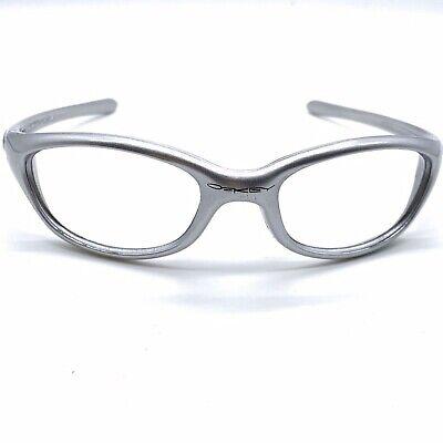 Vintage Silver Oakley Five Sunglass Frames Wraparound dr (Oakley Sports Wrap Around Sunglasses)