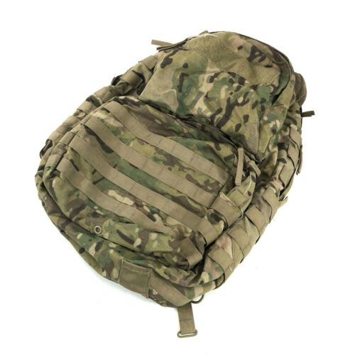 Medium Multicam Rucksack, No Frame, US Army MOLLE USGI Combat Backpack, DEFECT