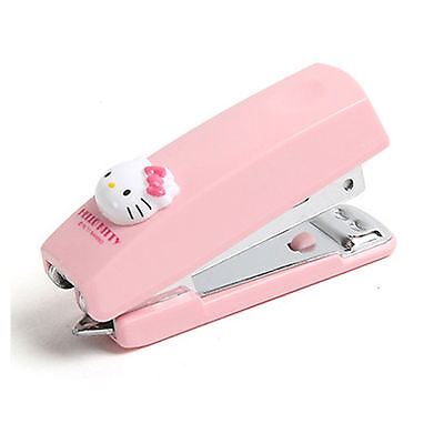 Hello Kitty Mini Stapler Cute Staple Kid Children Desk Office Supplies School
