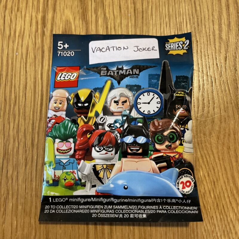 Lego+Batman+Series+2+Minifigures+Vacation+Joker+New+And+Sealed