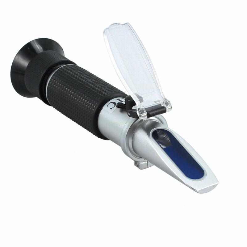 Handheld Wine Sugar Tester Brix Refractometer Saccharometer Measure Meter