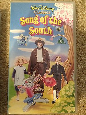 *RARE* 100% Genuine Disney's Song of the South VHS in MINT Condition !