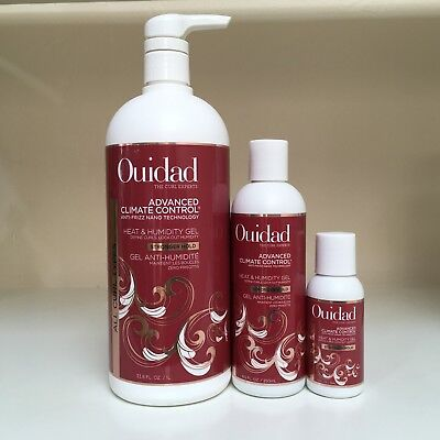 Control Gel - Ouidad Advanced Climate Control Heat & Humidity Gel Stronger Hold - YOU CHOOSE!!