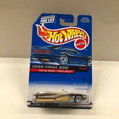 Hot Wheels Calle Bestia 1999 Final Run Retiring Modelo 4/12 U30
