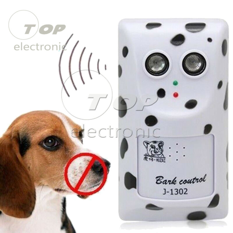 Humanely Ultrasonic Stop Control Dog Barking Anti No Bark Device Silencer Hanger