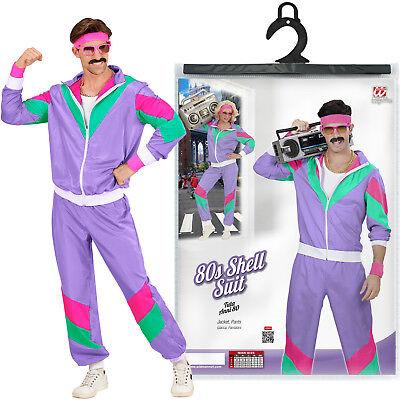 80er Jahre Trainingsanzug, Kostüm für Herren, 80s Jogginganzug, Assianzug Assi