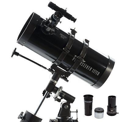 Telescope Reflector Tripod Terrestrial Astronomical Glass Optical 2-Eyepieces