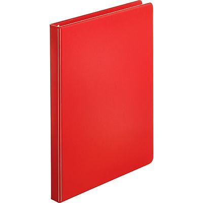 """Sparco 3-Ring Binder, 1/2"""" Capacity, 11""""x8-1/2"""", Red 03210"""