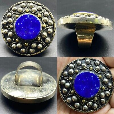 SALE 6 PCS!! Wonderful Handmade Medival Coral turquoise and Lapis lazuli stone Beautiful Pendants