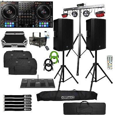 Pioneer DDJ-1000 DJ Controller w Mackie THUMP15A Active Loud Speakers DJ System