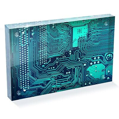 Motherboard-chip (Motherboard Chip Technician Photo Block 6 x 4