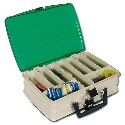Wobblerbox 14xFächer Kunstköder Box 19x9,5 cm Dose Aufbewahrung Gummifische Jig2