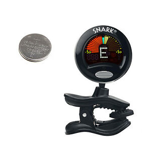 Snark SN-5 Clip On Chromatic Guitar Bass Violin Tuner Vibration Sensing SN 5 SN5