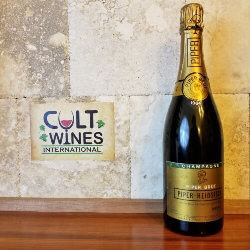 1964 Piper Heidsieck Brut Champagne wine, Excellent Condition