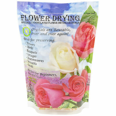 - Flower Drying Crystals , 1.5-Pounds / 0.68 KG of Silica Gel Preserving Wedding